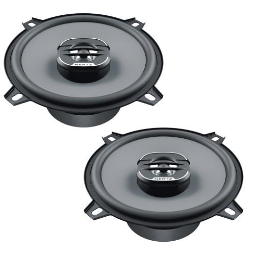 "Hertz UNO Series X-130 5.25"" Two-Way Coaxial Speakers (Pair)"