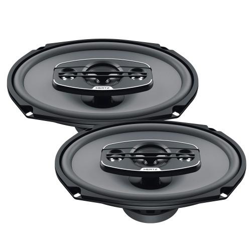 "Hertz UNO Series X-690 6x9"" Four-Way Coaxial Speakers (Pair)"