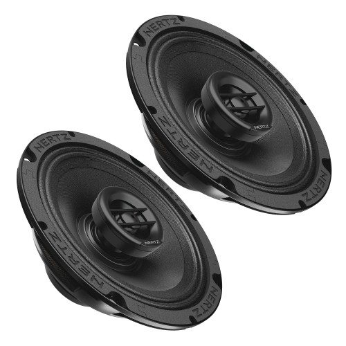 """Hertz SPL Show Series SX-165-NEO 6.5"""" Two-Way SPL Coaxial Speakers with Neo Magnets and UV/Waterproofing"""