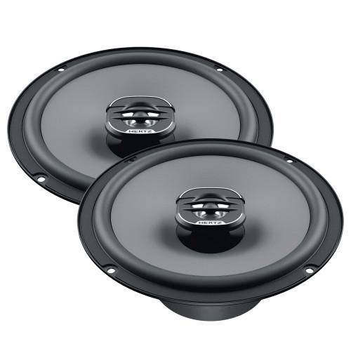 "Hertz UNO Series X-165 6.5"" Two-Way Coaxial Speakers (Pair)"