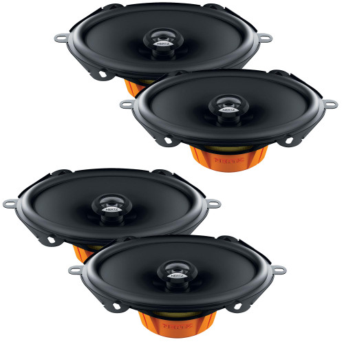 """Hertz Two Pairs of DCX570.3 2-Way 5x7"""" Coaxial Speakers"""