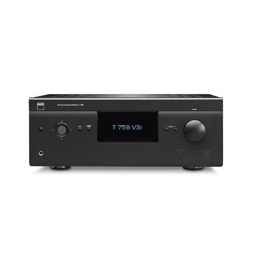 NAD T 758 V3i 7.1-channel Home Theater Receiver Compatible with BluOS, Apple AirPlay - 2 7x60W (NAD Full Disclosure Power)