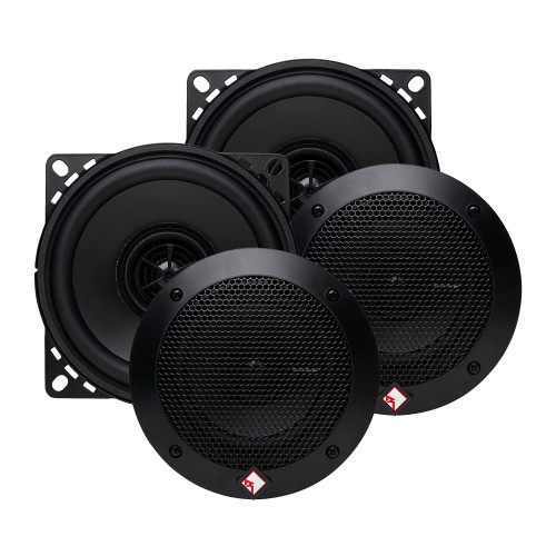 """Rockford Fosgate - Two Pairs of R14X2 4"""" Full Range Coaxial Speakers"""