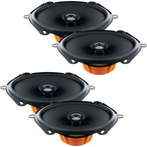 """Hertz 2 Pairs of Dieci 5x7""""/6x8"""" Speaker Replacements Compatible with 1997-2014 Ford F-150 Extended Cab"""