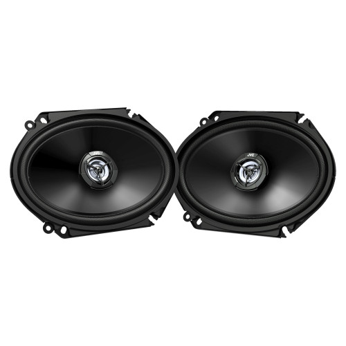 JVC CS-DR6821 300W Peak (45W RMS) 6x8 2-Way Factory Upgrade Coaxial Speakers - Pair - Open Box