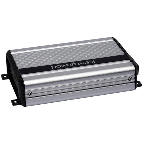 PowerBass XL-2205M - 200 Watt x 2 @ 2-Ohm Mini Full Range Digital Amplifier - Used Very Good