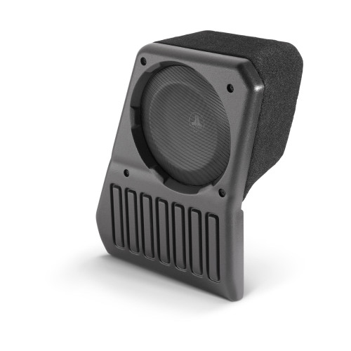 JL Audio SB-J-JL4DPAS/10TW1-2: Passenger Side - 2 Ω Stealthbox for 2018-Up Jeep Wrangler Unlimited - Used Acceptable