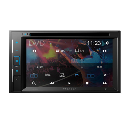 """Pioneer AVH-241EX 6.2"""" - Touchscreen DVD Receiver with Bluetooth and Back Up Camera input compatible with Amazon Alexa"""