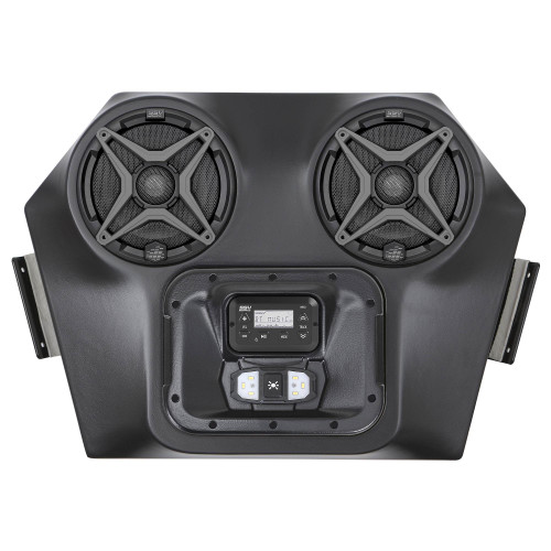 SSV Works WP3-RZOA Polaris RZR 570/800/900 2 Speaker Overhead Weather proof Audio System with Dome Light