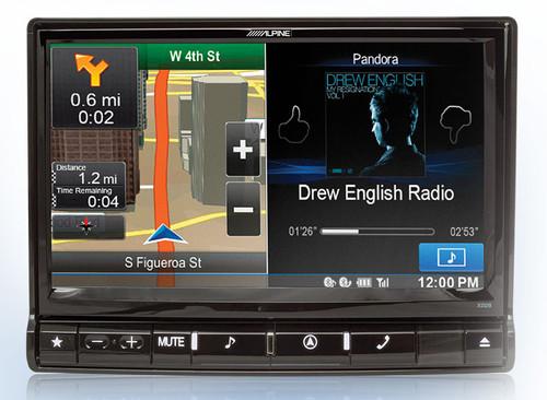 Alpine X009-U X009-U9-Inch Universal Audio/Video/Navigation System