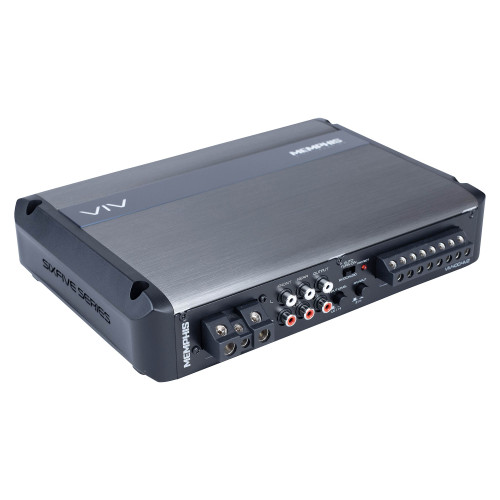 Memphis Audio VIV600.4V2 SixFive Series 4-channel car amplifier — 80 watts RMS x 4