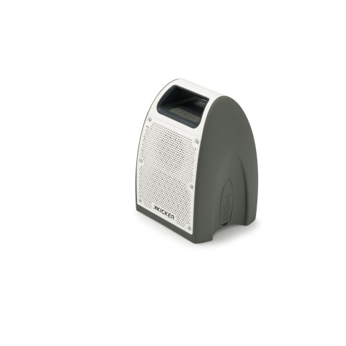 Kicker Bullfrog BF200 Waterproof Bluetooth Speaker - Gray - Like New
