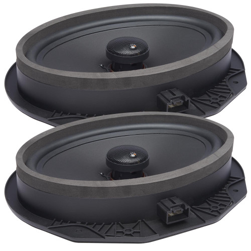 """PowerBass OE692-FD - 6x9"""" Ford OEM Replacement Coaxial Speakers  - Pair - Like New"""