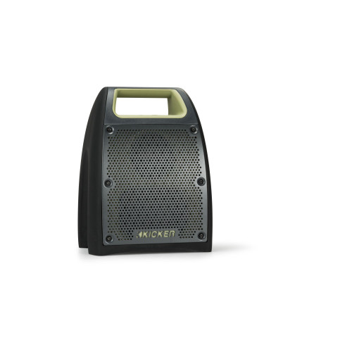 Kicker Bullfrog BF200 Waterproof Bluetooth Speaker - Green - Like New