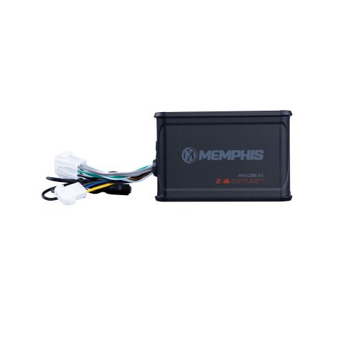 Memphis Audio MXA200.4S MXA Ultra Compact Amplifier 50Wx4 - Used Very Good