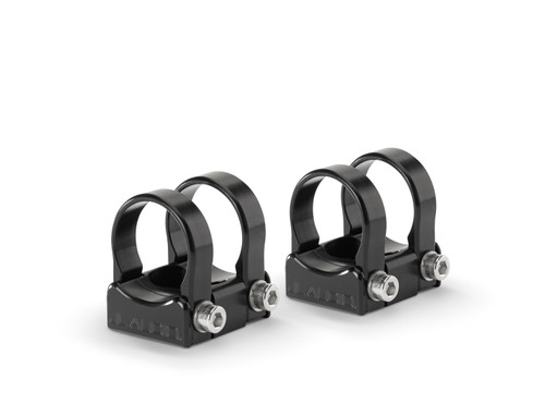 """JL Audio PS-SWMCP-B-1.375 Pipe Mounting Fixtures (Swivel) for VeX Speaker Systems. Clamps have inner-diameter of 1.375"""" - Like New"""