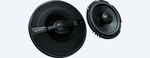 Sony XS-GS1621 6-1/2 (16 cm) GS 2-Way Coaxial Speakers (Pair) - Like New
