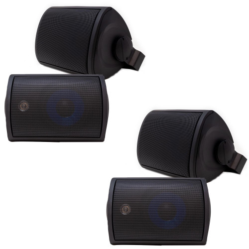 "Legrand MS3523BK 3000-Series 5.25"" Outdoor Speaker Bundles, Includes Mounting Brackets"