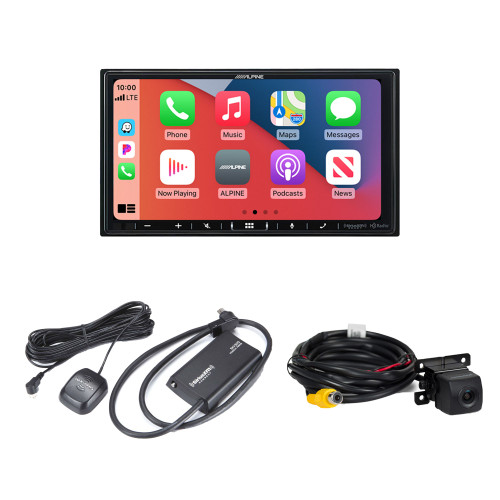 Alpine ILX-407 7-inch Multimedia Receiver with SXV300v1 Satellite Tuner and HCE--C114 Back Up Camera