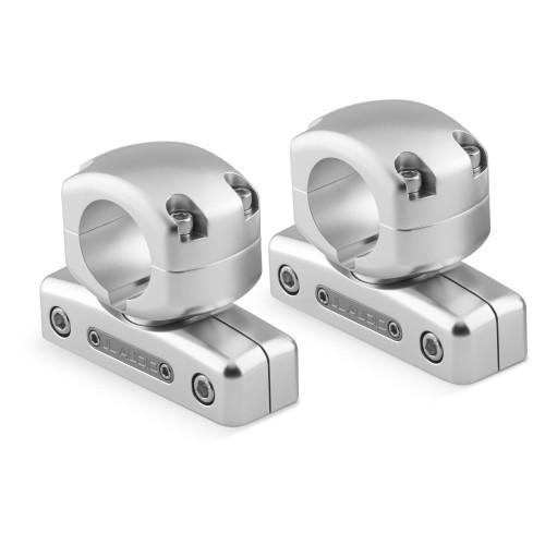"JL Audio M-SWMCPv3-1.660 Pipe Mounting Fixture (Swivel) for M & MX ETXv3 models. Clamp has inner-diameter of 1.660"""