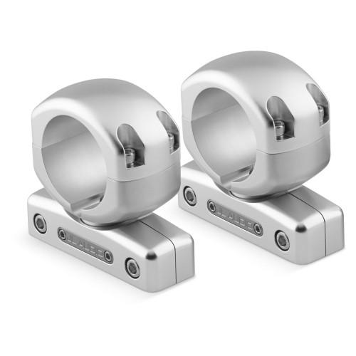 "JL Audio M-SWMCPv3-2.375 Pipe Mounting Fixture (Swivel) for M & MX ETXv3 models. Clamp has inner-diameter of 2.375"""