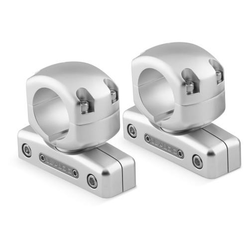 "JL Audio M-SWMCPv3-1.900 Pipe Mounting Fixture (Swivel) for M & MX ETXv3 models. Clamp has inner-diameter of 1.900"""