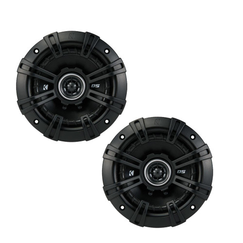 Kicker DSC50 5.25-Inch (130mm) Coaxial Speakers, 4-Ohm (Pair)