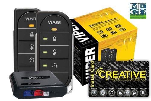 Viper 4806V 2way Led Remote Start 1mile Range - Price Includes Standard Installation