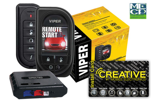 Viper 5906V Responder HD Sst 2way Security W/Remote Start - Price Includes Standard Installation