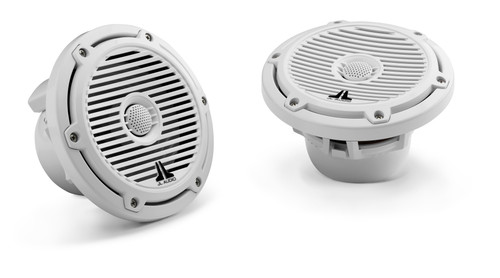 JL Audio M650-CCX-CG-WH: 6.5-inch (165 mm) Cockpit Coaxial System White Classic Grilles
