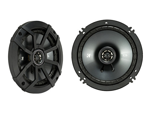 Kicker CSC 6.5-INCH (160mm) COAXIAL SPEAKERS, 4-OHM (Pair)