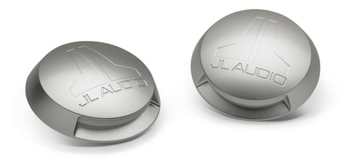 JL Audio M-LCB-C-W Machined aluminum rear covers with LED down light for 8.8-inch ETXv3 models, Pair