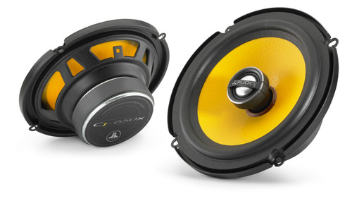 JL Audio C1-650x 6.5-inch (165mm) Coaxial with 0.75-inch (19mm) aluminum dome tweeter