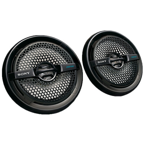 Sony XS-MP1611B 6.5 in (16 cm) Dual-Cone Marine Speaker (Pair)