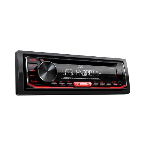 JVC KD-R490 CD Receiver featuring USB/AUX Input