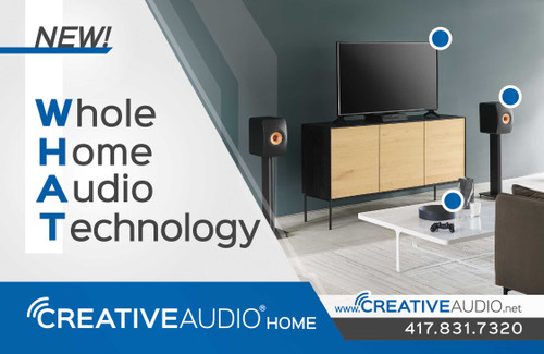 Creative Audio's Home Audio Expansion!