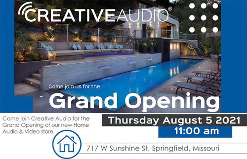 Creative Audio Home Audio Grand Opening!