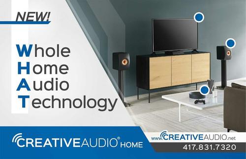Creative Audio's Home Audio Expansion!