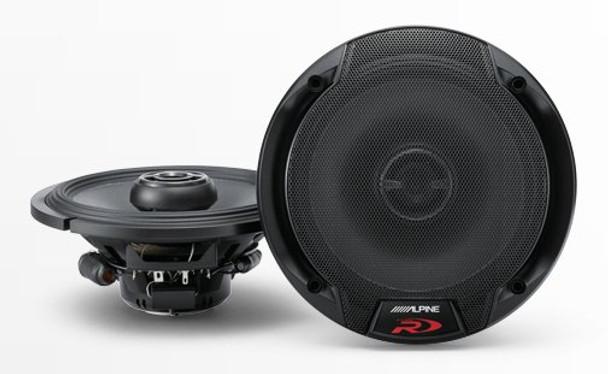 "Alpine SPR-60 6-1/2"" Coaxial 2-Way Speaker Set"