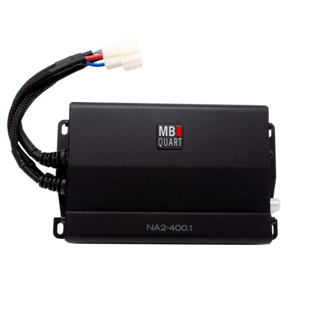 MB Quart NA2-400.1 compact 400 watt mono Powersports amplifier for subwoofers