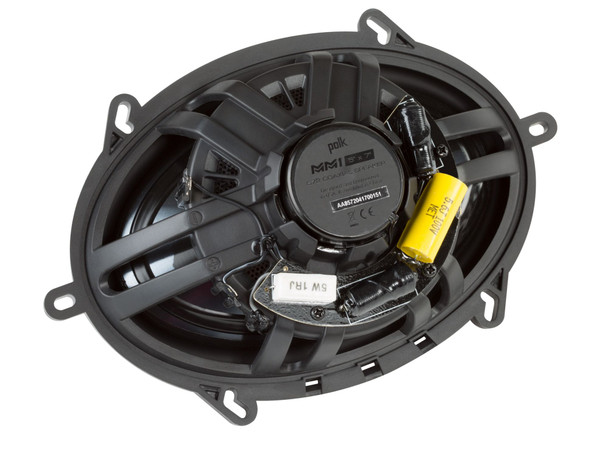 """Polk MM6502 6.5"""" Front Component and Rear MM572 5x7"""" Coax Speaker System Bundle Includes 2 Pair"""