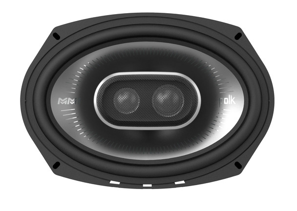 "Polk MM6502 6.5"" Front Component and Rear MM692 6x9"" Coax Speaker System Bundle Includes 2 Pair"