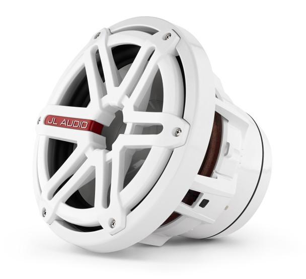 JL Audio M8IB5-SG-WH:8-inch (200 mm) Marine Subwoofer Driver White Sport Grilles 4 Ω