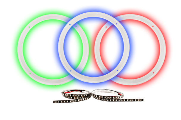 """Wet Sounds 12"""" LED Ring Kit with RGB strip for XS and SW Series Subs - Used Very Good"""