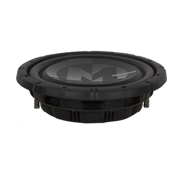 """Memphis Audio PRXS1040 10"""" Power Reference Single 4-Ohm Shallow Mount Subwoofer - 350 wRMS"""