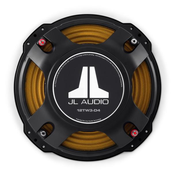 JL Audio 12TW3-D4: 12-inch (300 mm) Subwoofer Driver Dual 4 Ω