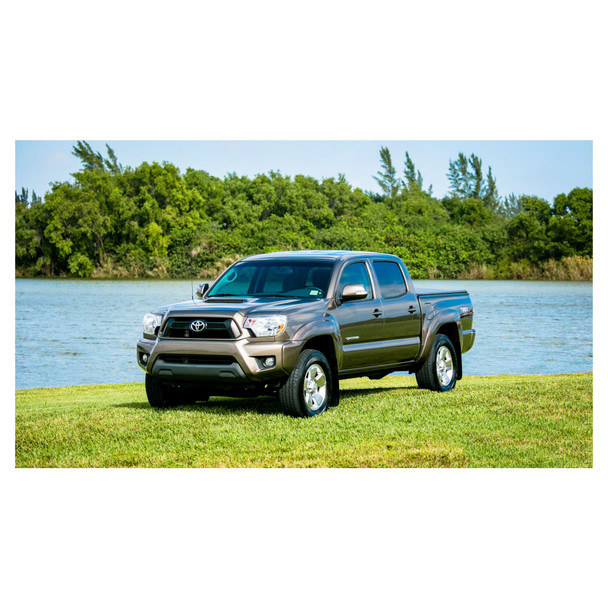 JL Audio SB-T-TACDC12/10TW3:Stealthbox® for 2012-2015 Toyota Tacoma Double Cab