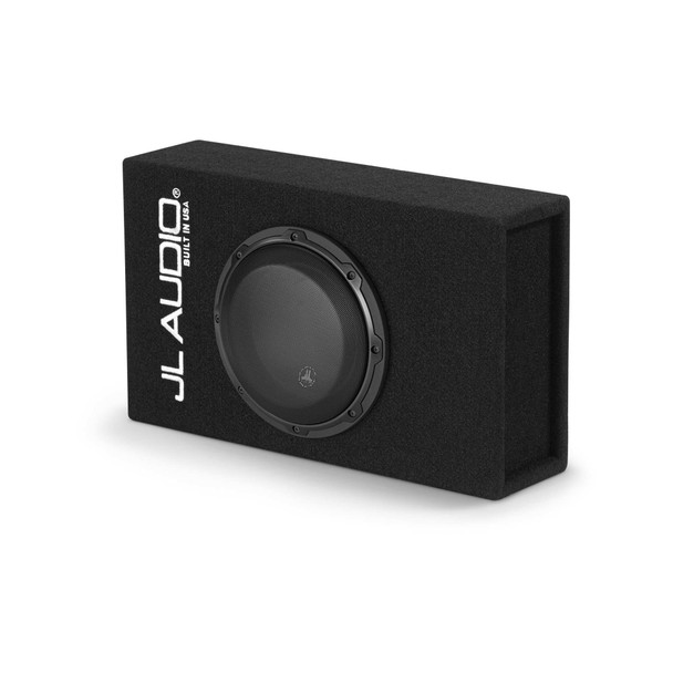 JL Audio ACP108LG-W3v3 Amplified MicroSub+ with single 8W3v3 (slot-ported)