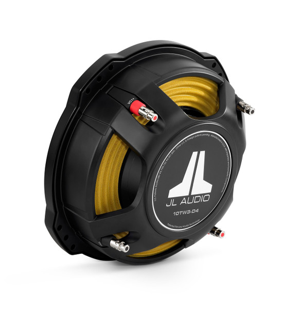JL Audio 10TW3-D4: 10-inch (250 mm) Subwoofer Driver Dual 4 Ω