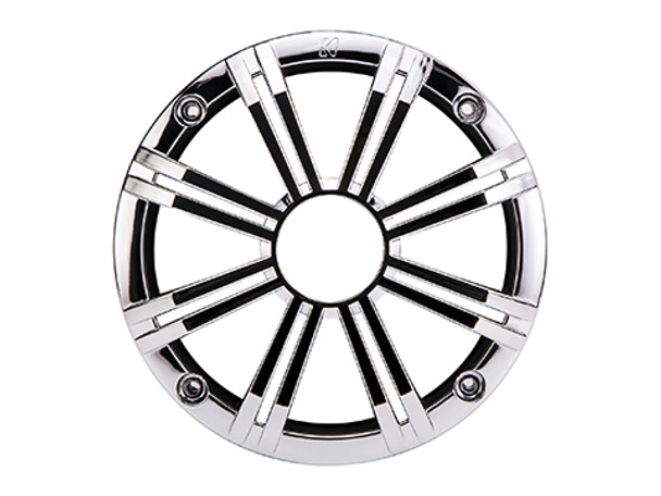 Kicker KM8GCR Marine Speaker Grille for KM84 Marine Coaxials, Chrome